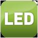 Moderna illuminazione a LED